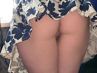 I put my cock under my sister's skirt - Ezik01