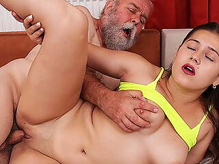 tricky sex with grandpa