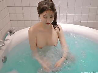 Korean girl with perfect convention is super cute