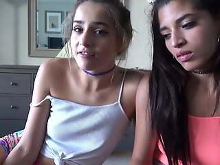 Hot Latina Teens Fuck Roommate -Sofie Reyez & Gabriela Lopez