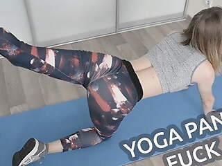 YOGA PANTS FUCK WITH FIT STEPSISTER