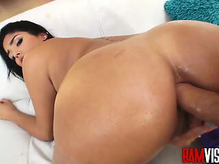 Bamvisions – Hot Latina Teen Vanessa Sky Craves Anal Sex