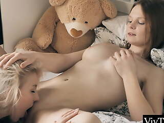 Hot girlhood lick and suck each other's clits before corroding to orgasm