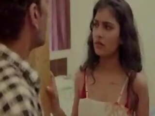 Indian hot bhabhi and servant have hardcore dealings apropos bedroom
