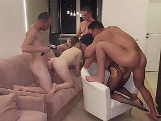 PHOTO SESSION THAT TURNED INTO A BISEXUAL ORGY (2)