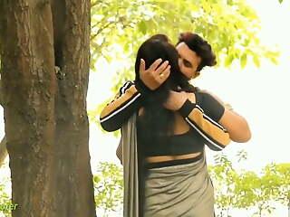 Indian Saree Kissing Prank Video