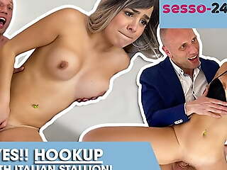 Real italian youtuber fucks with OLD man! SESSO-24ORE.com