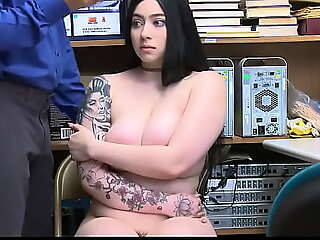 Hot Teen Stopped up Shoplifting plus Fucked By Pass in review Officer