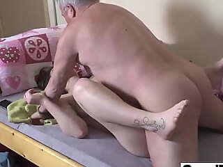 Elderly Perv wants prevalent Cum in My Brashness