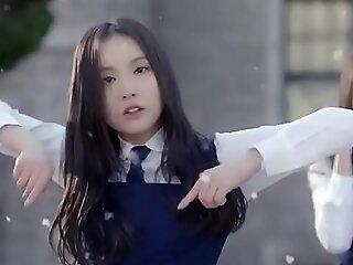 blue korean girls Resemble