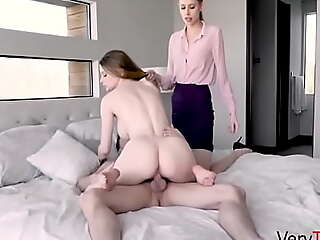 Teen Stepdaughter Gets Punish Fucked By Stepmom And Stepbrother- Bunny Colby