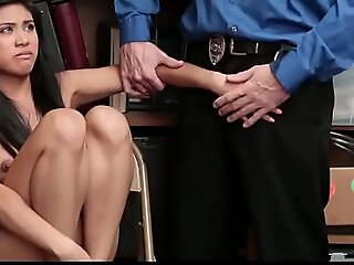Asian Teen Shoplifter Strip Searched And Banged
