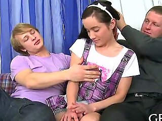 Non-professional in force seniority teenager porn