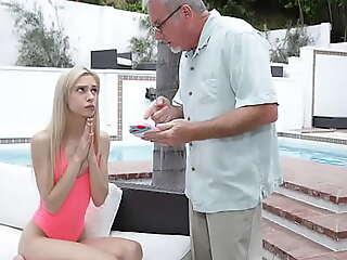 Grandpa Fucks His Teen Granddaughter Chanel Shortcake