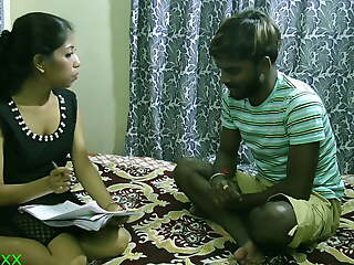 Indian sexy Whoremaster has spontaneous sexual relations with student: Undivided webseries