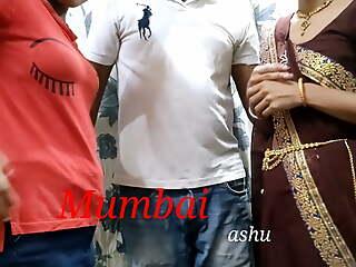 Indian threesome video, Mumbai Ashu sexual connection video, anal sexual connection