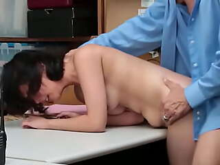 Teen Hold-up man Caught to Be Recorded While is Fucked - Penelope Pencil-thin - Teenrobbers porn video