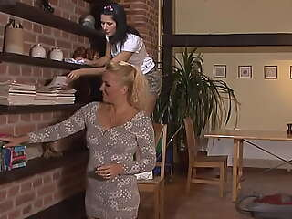Son raunchy his mother toying teen swain