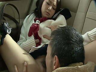 Japanese Milf wet pussy fuck