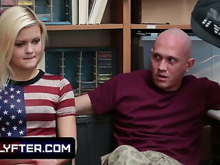 Blonde Teen Snarled illegal Stealing Gets Fucked In A difficulty Backroom