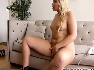 Catching His Role of Breast-feed - Melissa May - FamilyStrokes