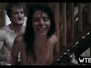 Slutty teen obeys man'_s desires in a trammel of crazy porn scenes