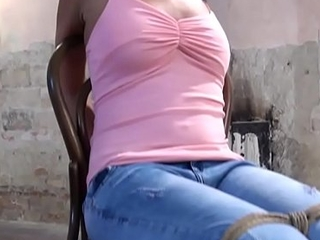 Tied Teen is waiting relating to get Fucked