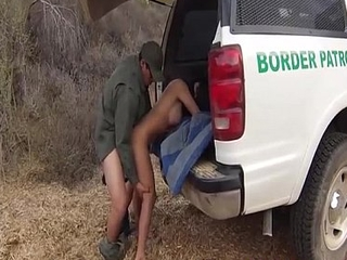 Interesting Mexican Vest-pocket-sized Rough Fucked By BorderGaurd
