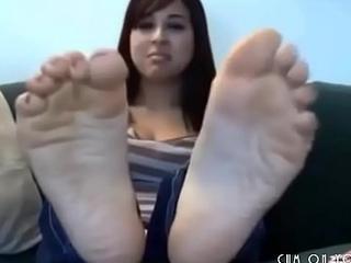 Hot Feet Webcam Teen