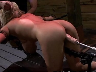 Alice Amore'_s Tiny Pussy Endures Disgrace