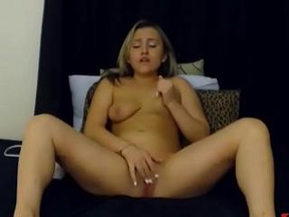 New Blonde Teen on Webcam