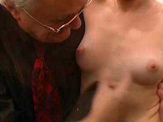 Young blonde woman fisted and screwed
