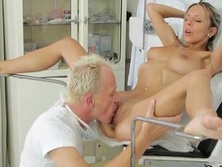 Gynecologist Freak Shafting Terrific Euro Teen