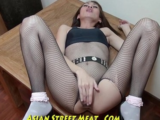 Nice Slimy Anal Be wild about Up Super Asian Slapper