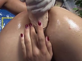 adolescence first anal fisting lesson
