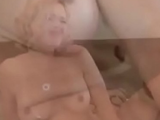 Young Teen Ass Fucked Off out of one's mind Two Dirty Old Men