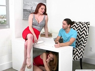 Incomparable Stepmom Offers Young Couple a Sex Lesson - Lolo Punzel, Veronica Vainglorious