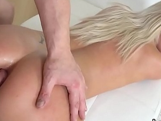 Spectacular petite cutie gets her soaking carry off together with tiny butthole drilled
