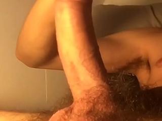 Dick twerk / Bite francais en cam Skype