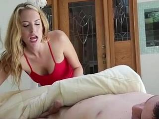 Extra-Small 18yo Sucking Sleepy Boys Cock
