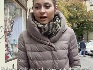Public Blowjob With Sexy Amateur European Slut Be advantageous to Cash 18
