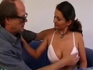 Pervent Father Shafting with battle-cry his Big Na�ve Tits Daughter
