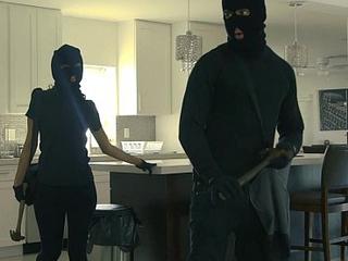 Punishteens - large gazoo thief manacled and screwed