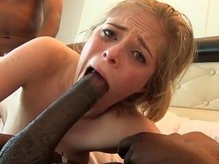 Teens drilled hard anal