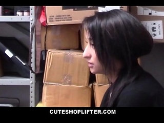 Cute Teen Latina Employee Isabella Nice Putrefacient Stealing Alien Her Work Fucked By Stand watch over